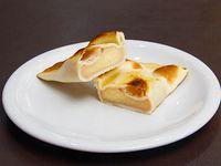 Empanada de jamón y queso (horno)