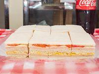 Promo - 24 sándwiches triples mixtos + refresco Coca Cola 1.5 L