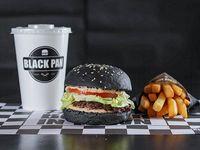 Combo del día - Lady burger + Papas fritas + Gaseosa 500 ml