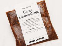 Carne Desmechada #CrepeEnCasa