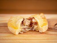Empanada de pollo con panceta