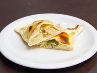 Empanada de queso y cebolla (horno)