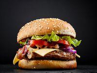 Burger Clásica + Coca-Cola Sabor Original 250 ml