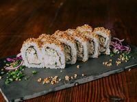 Salmón tartar roll (10 piezas)
