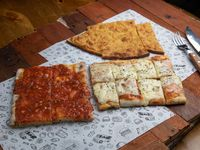 Promo Papin 2 - 1 Muzzarella + 1 Pizza + 1 Faina