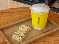 Combo - Café con leche 9 oz + barrita