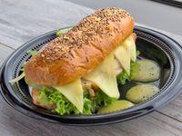 Sándwich de Cerdo a la Naranja