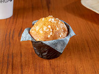 Muffin chocolate blanco y limon
