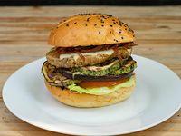 Promo - Hamburguesa vegetariana
