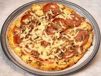 Pizza Mediana + Gaseosa 1,5 Lt