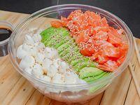 Salmón sushi salad fresh