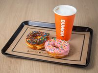Combo - 2 donut classic + bebida classic M (a elección)