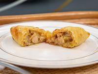 Empanada de Pollo, Puerro y Panceta