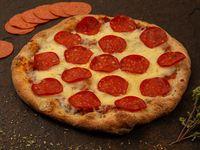 Pizza Pepperoni y Orégano
