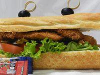 Sandwich de Pollo Apanado