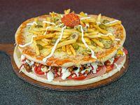 Lomipizza 8 porciones. Para 2 a 3 personas