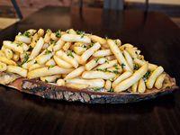 Papas fritas a la provenzal (para tres personas)