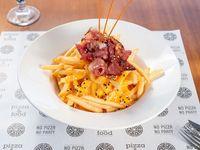 Papas cheddar-bacon