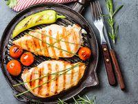 Pollo a la Plancha en Salsa de Mostaza