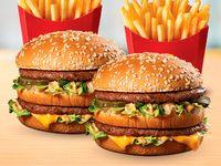 2 Sándwich Big Mac + 2 Papas Medianas