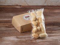 Caja de mini churros congelados. Rellenos de Tres Quesos 270 ml