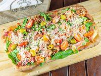 Pizza con rúcula mediana (8 porciones)