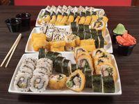 Combo 12 - 90 piezas de sushi a elección