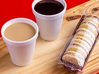 Combo para dos - 2 café a gusto más 1 tubo de alfajores de maicena