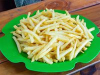 Papas fritas (cuatro personas)