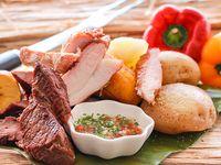 Carne oreada Res - Cerdo x1