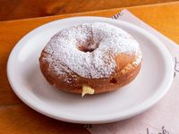 Donut vainilla cream
