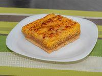 Torta de coco con dulce de leche (porción)