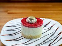 Torta cheescake de frutos rojos (porción)