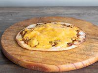 Lehmeyun con queso cheddar