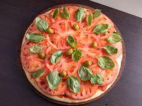Pizza con capresse