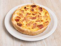 Tartaleta de jamón y queso