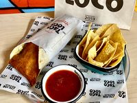 Combo Burrito Texano