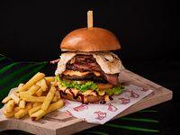 Delichef burger 4 carnes