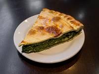 Tarta de acelga (porción)