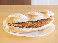 Süper sándwich de milanesa solo