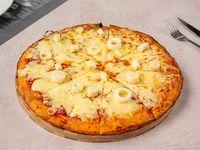 Pizzeta muzzarella con palmitos