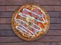 Pizza mediterráneo