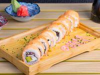 Tako sake roll (10 piezas)