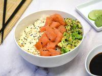 Sushi salad salmón y palta
