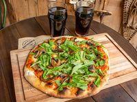 Combo - Pizza portobello + 1 gaseosa 1.5 L