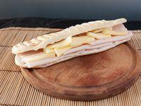 Sándwich con pavita