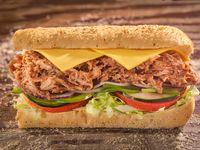 Sándwich Cerdo Desmechado