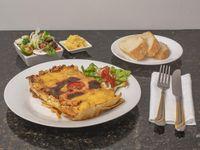 Lasaña Artesanal Mixta Carne y Pollo