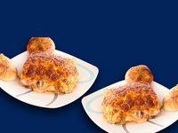 Dos Lasagnas Boloñesas con Pan de Ajo