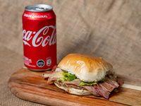 Combo - Hamburguesa completa + Lata de coca